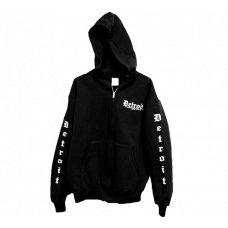 Zip-Up Hoodie - Detroit Motorcycle Company