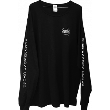 T-Shirt -Long Sleeved - Stevenson's Cycle