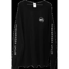 T-Shirt -Long Sleeved - Stevenson's Cycle