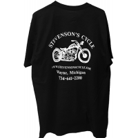 T-Shirt - Short Sleeved - Stevenson's Cycle